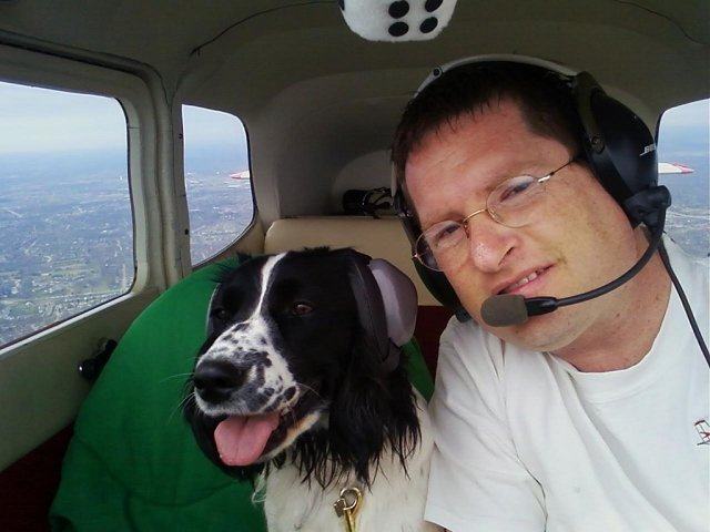 dog and pilot